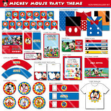Mickey Mouse Party Theme Decorations - mickey mouse party decorations mickey mouse clubhouse