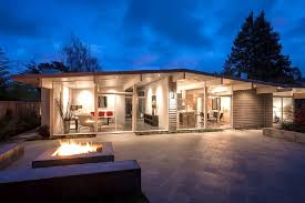 eichler home david eichler caught beauty home glowing night kaf mobile homes