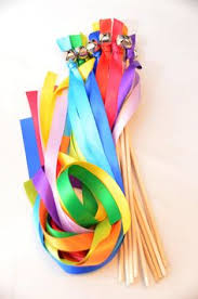 ribbon streamers 100 rainbow wedding wand bell ribbon streamers pride same