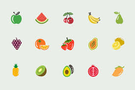 thanksgiving icons pictures 15 fruit icons and graphics icons creative market