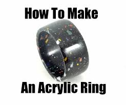 How Thick Is Corian How To Make An Acrylic Ring With Corian 6 Steps With Pictures