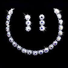 Conhecido liga lindo com jóias coloridas rhinestones casamento noivas  @WO92