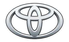 car logo black and white the toyota logo design features 3 ovals representing the hearts of