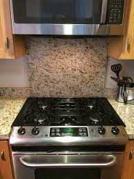 Slide In Gas Cooktop Kitchen Backsplash For Behind A Slide In Range