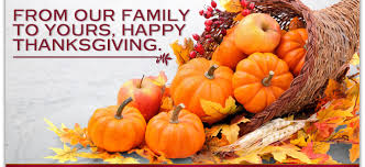 happy thanksgiving our family thanksgiving blessings