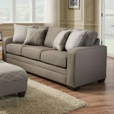 furniture using comfy simmons sleeper sofa for home furniture