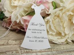 bridal shower favor tags personalized bridal shower favor tags custom bachelorette in