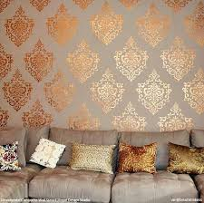 stencils for home decor decorate with wall stencils hot diy home decor trends royal