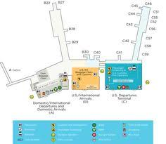 miami airport terminal map miami international airport map print this up before leaving