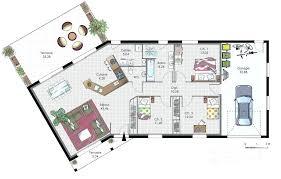plan maison plain pied 5 chambres plans de maisons plain pied plan maison bois chambres plan de la