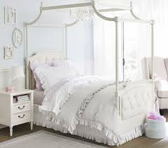 How Much Does Pottery Barn Pay Blythe Tufted Canopy Bed Pottery Barn Kids