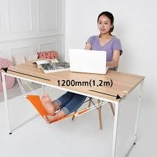 le de bureau sur pied fuut bureau pieds hamac orange repose pieds hamac soulager la