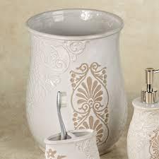 Bathroom Waste Basket by Galileo Bath Accessories By J Queen New York