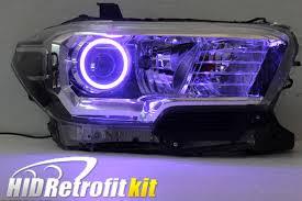 lexus xenon headlights 2017 toyota tacoma custom hid retrofit headlights bixenon hid bi