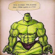 Hulk Smash Meme - yoga off the mat hulk smash