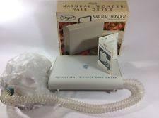 dazey hair dryer natural wonder portable hair dryer bonnet ebay