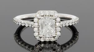 ritani engagement rings ritani 1 1 2 ctw colorless radiant halo engagement ring