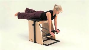 Pilates Chair Exercises Mbodies Align Pilates Equipment Split Pedal Combo Chair Youtube