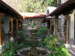 style courtyards great intimate space hacienda style my style home