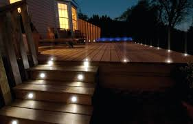 Low Voltage Outdoor Deck Lighting post mount lights prefer not perfectly straight lines of lights