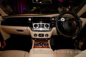 interior rolls royce ghost rolls royce wraith launched in india interiors indian autos blog