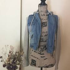 jean sweater jacket 53 billabong jackets blazers billabong jean sweater