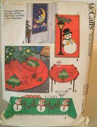 vintage 1960 mccalls 2405 sewing pattern tablecloths