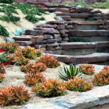Rock Gardens On Slopes Rock Garden Ideas Slope Archives Catsandflorals Likeable