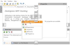 devexpress layout control video dock windows layout management wpf controls devexpress help