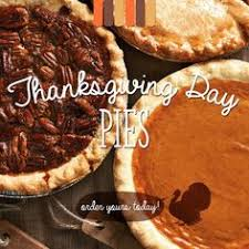 thanksgiving is around the corner order all your pies and other