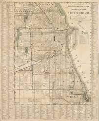 Map Chicago by Map Of The City Of Chicago 1886