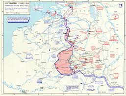 Map Of Germany And Surrounding Countries by Map Map Noting German Advances In France And The Low Countries
