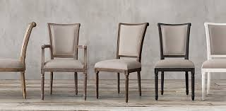 restoration hardware dining rooms astounding fabric chair collections rh on restoration hardware