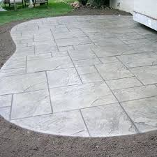 stamped concrete patio contractors rochester ny stamped concrete
