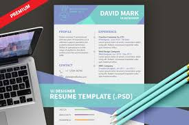 ui designer resume template psd design3edge com