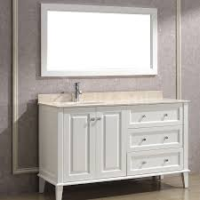 Bathroom Vanity Installation 55 White Bathroom Vanity With Vanities Decorations 4