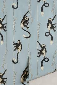 monkey wallpaper for walls jungle dream wallpaper