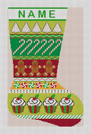 christmas needlepoint christmas treats needlepoint canvas needlepaint