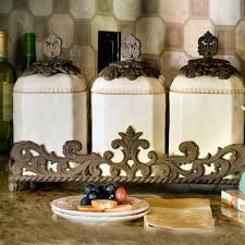 brown kitchen canister sets the gg collection ceramic canister set 31903