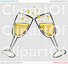 champagne clipart royalty free rf clipart illustration of a pair of toasting clear