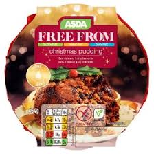 asda free from christmas pudding asda groceries
