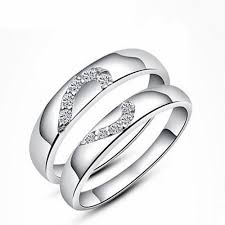 couple rings silver images Silver couple ring silver rings jpg