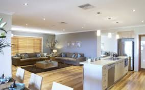 Open Kitchen Dining And Living Room Floor Plans Open Plan Kitchen Dining Room And Living Room Area On Timber