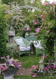 Shabby Chic Garden Decorating Ideas Shabby Chic Garden Designs