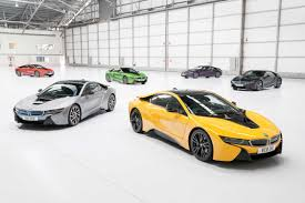 Bmw I8 Orange - new bmw individual exterior paint programme for the i8