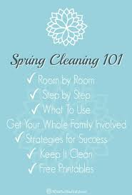 spring cleaning tips tip top spring cleaning secrets you need to know with free