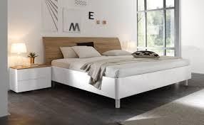 Schlafzimmer Komplett Bett 180x200 Doppelbett Weiß Hochglanz Eiche Natur Tambio28 Designermöbel