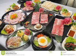 koreanische küche koreanische küche lizenzfreies stockfoto bild 27583805