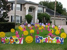 Home Decoration For Birthday Creative Lawn Decorations For Birthdays Amazing Home Design Luxury