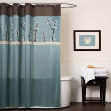 Teal Colored Shower Curtains Blue And Brown Shower Curtains Furniture Ideas Deltaangelgroup